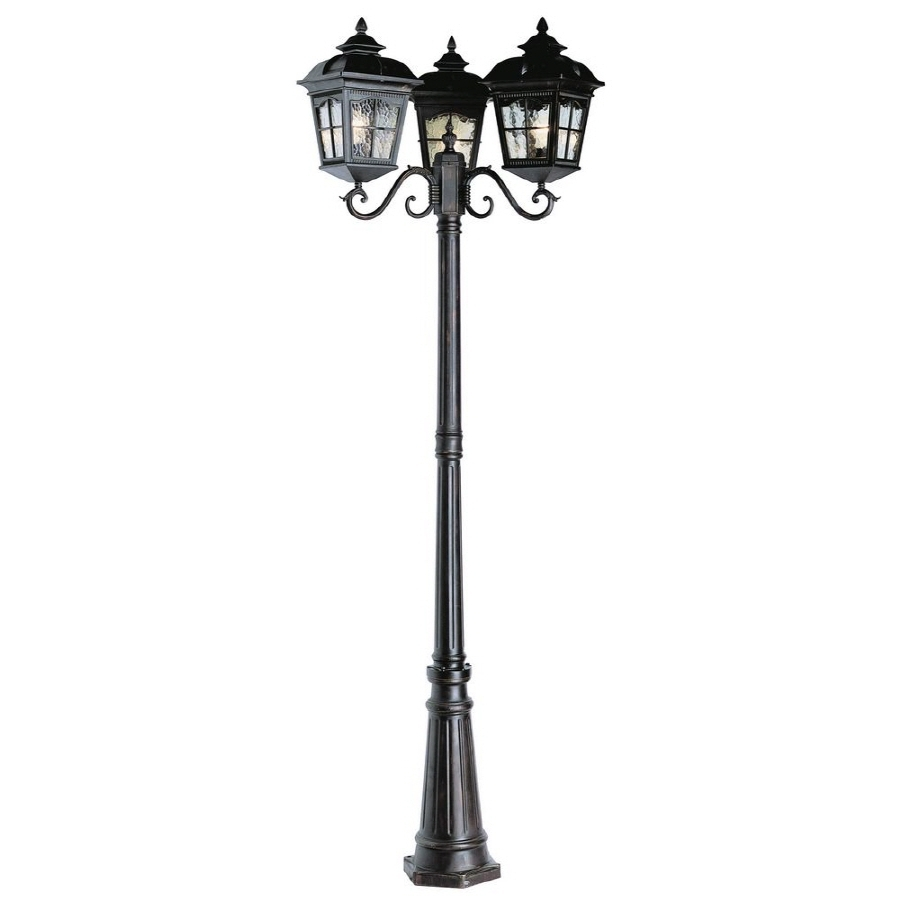 Outdoor Hanging Post Lights Throughout Best And Newest Outdoor Lighting: Awesome Outdoor Post Lights Lowes Outdoor Porch (View 20 of 20)