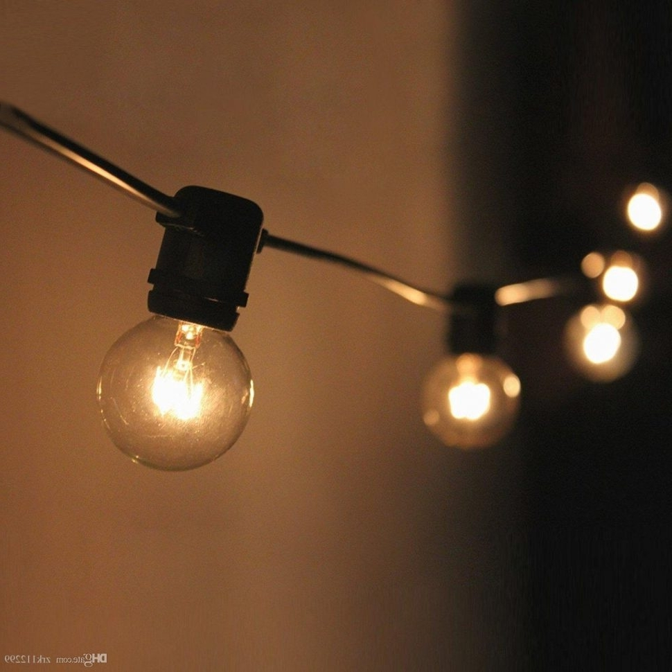 Outdoor Hanging String Lights From Australia With Newest Diy : Waterproof Outdoor Globe String Lights With Clear Bulbs (View 12 of 20)