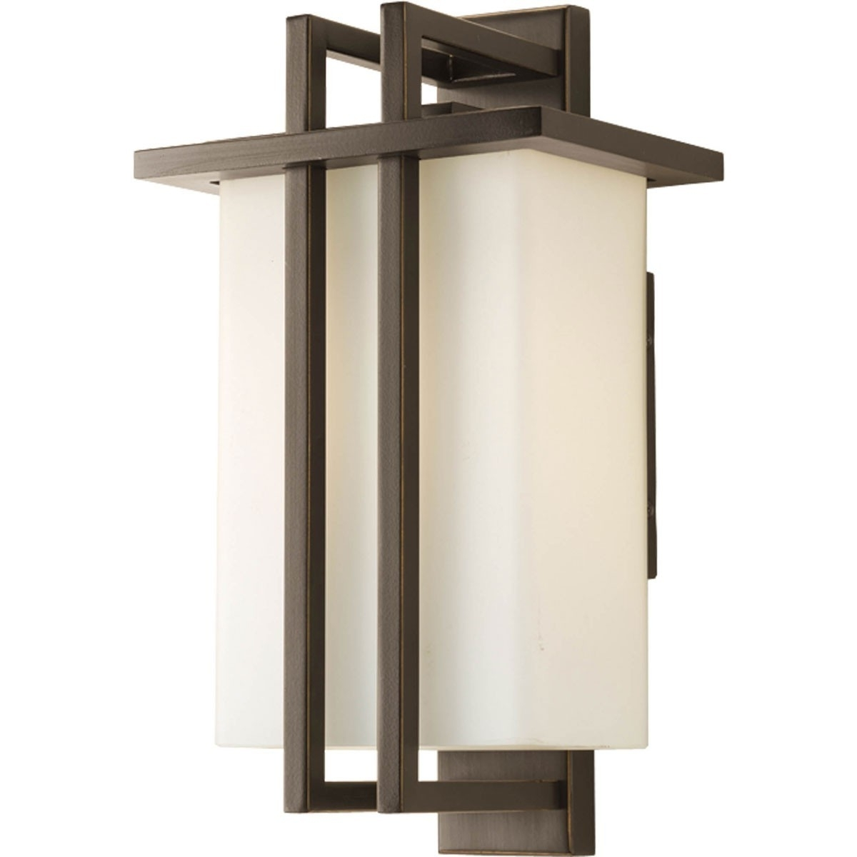 Outdoor Hanging Wall Lanterns Throughout Well Known Outdoor Small Hanging Lantern Light Fixture – Progress Lighting (View 14 of 20)