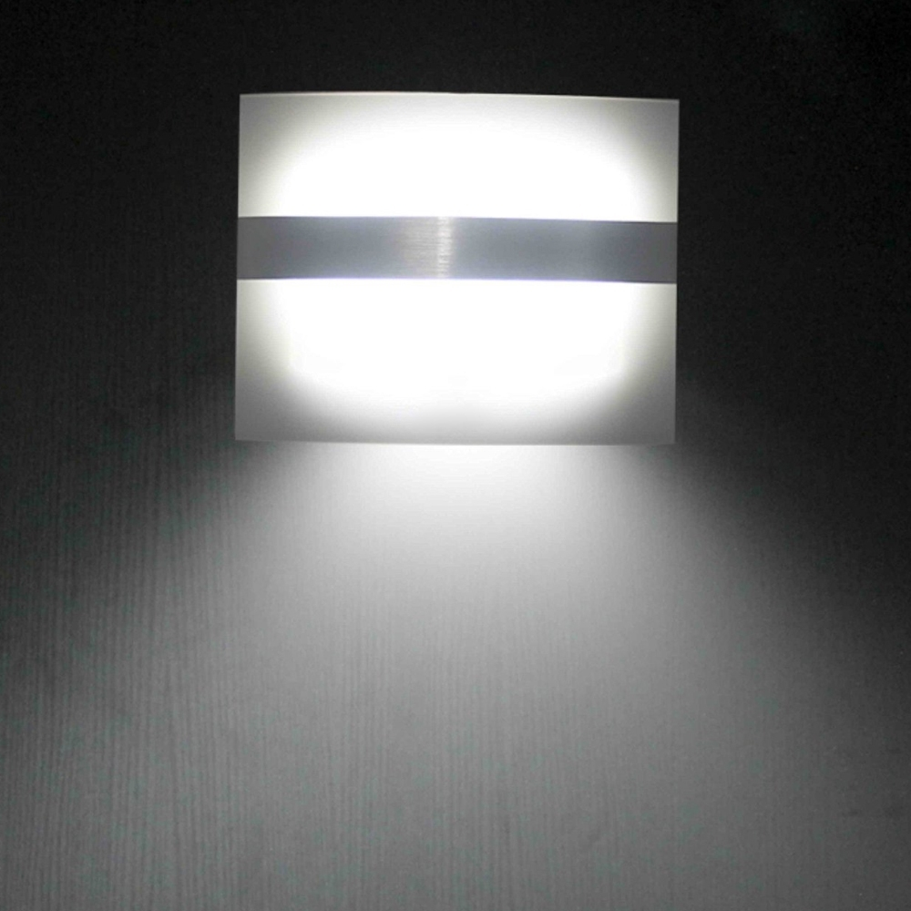 Outdoor Led Wall Lighting Throughout Favorite Led Wall Light Motion Sensor Light Indoor/outdoor Led Wall Light For (View 10 of 20)