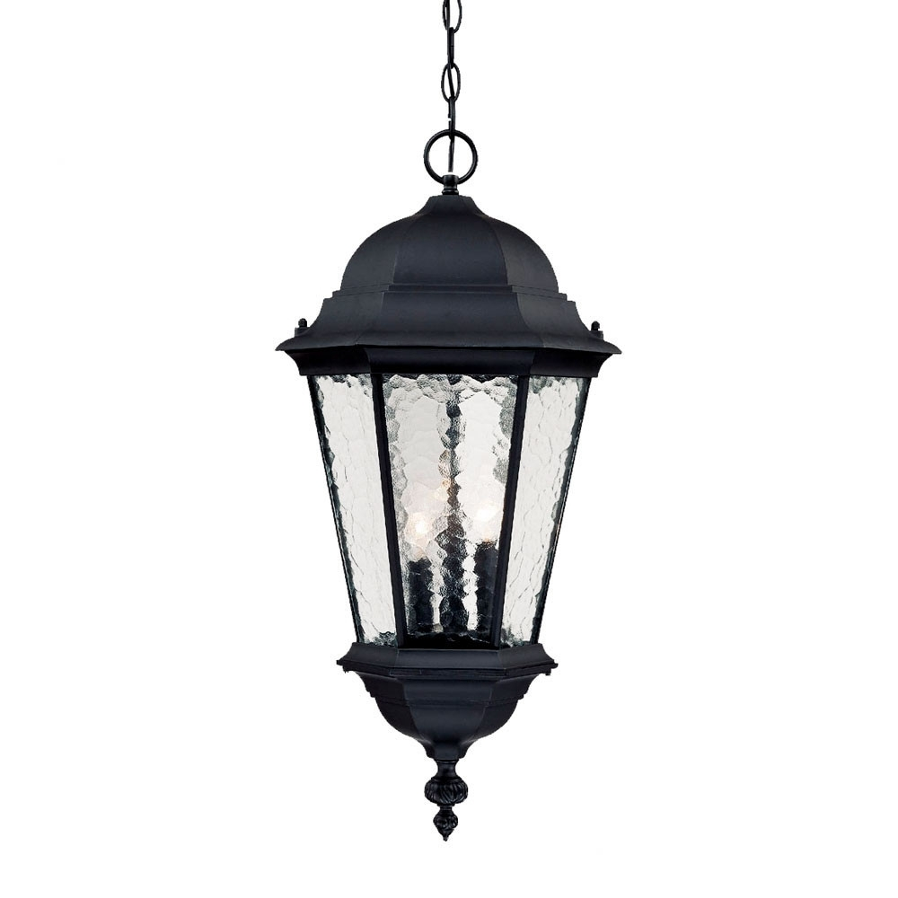 Outdoor Lighting And Light Fixtures At Wayfair With Most Up To Date Telfair 3 Light Outdoor Hanging Lantern (View 14 of 20)