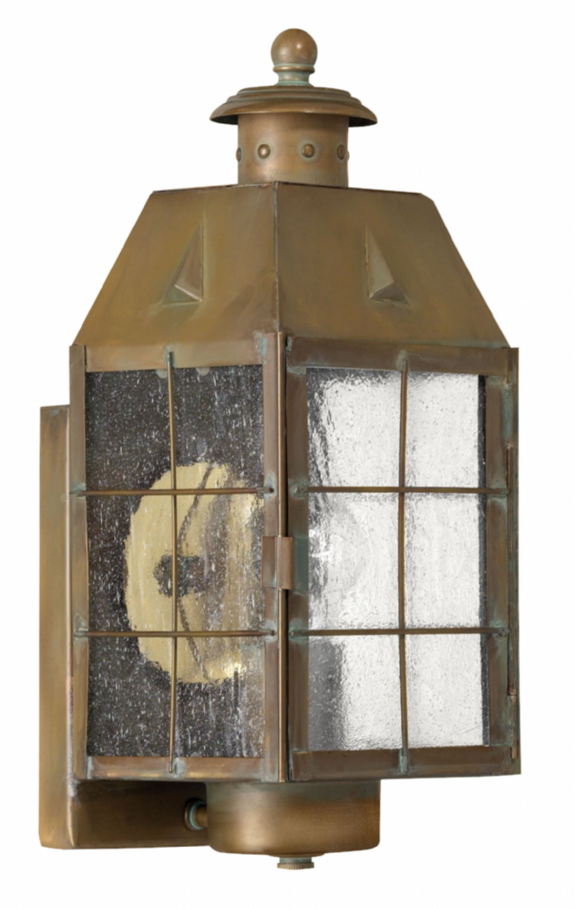 Outdoor Lighting Fixtures At Wayfair Throughout Most Up To Date Aged Brass Nantucket > Exterior Wall Mount (View 9 of 20)