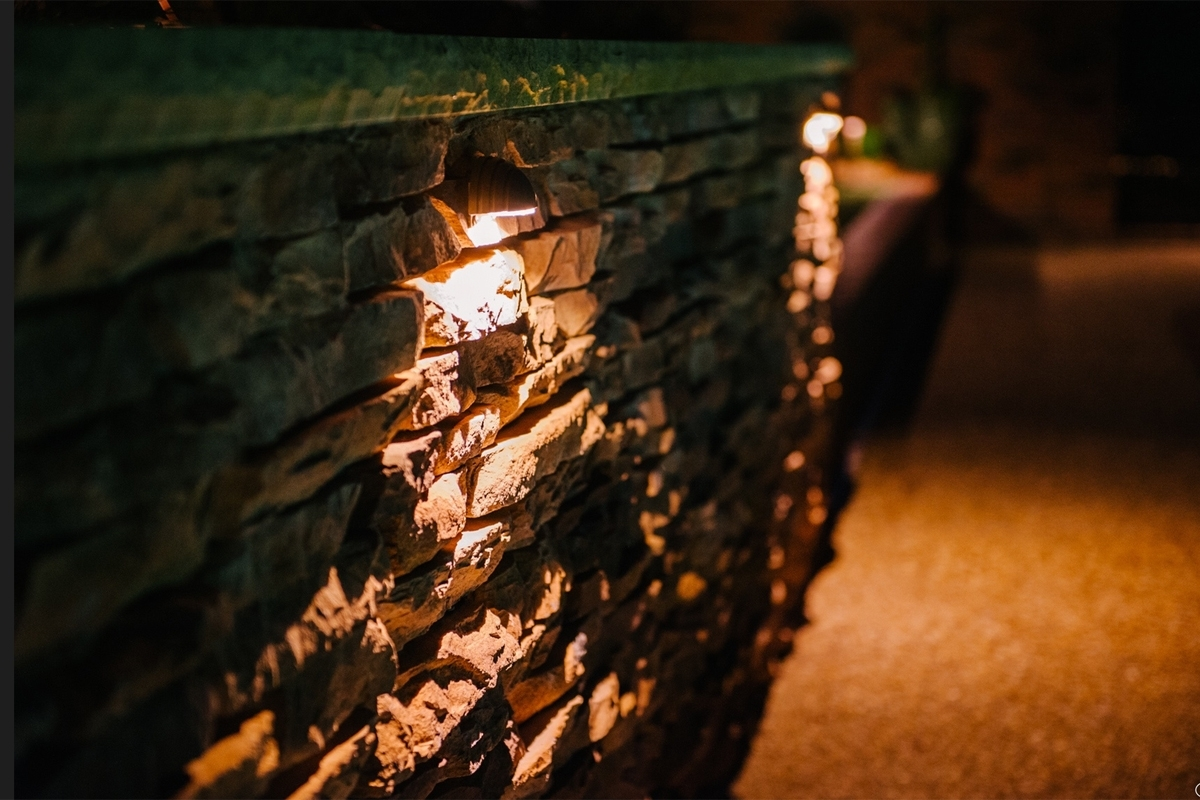Outdoor Lighting Perspectives Intended For Latest Outdoor Rock Wall Lighting (View 8 of 20)