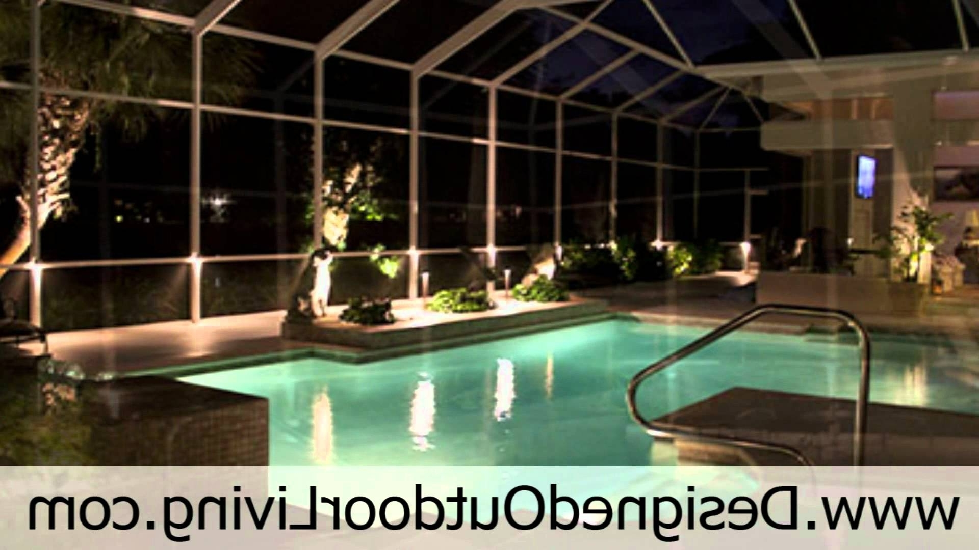 Outdoor Lighting Service For Swimming Pools Inside Pool Cages And Pertaining To Favorite Outdoor Hanging Pool Lights (View 14 of 20)