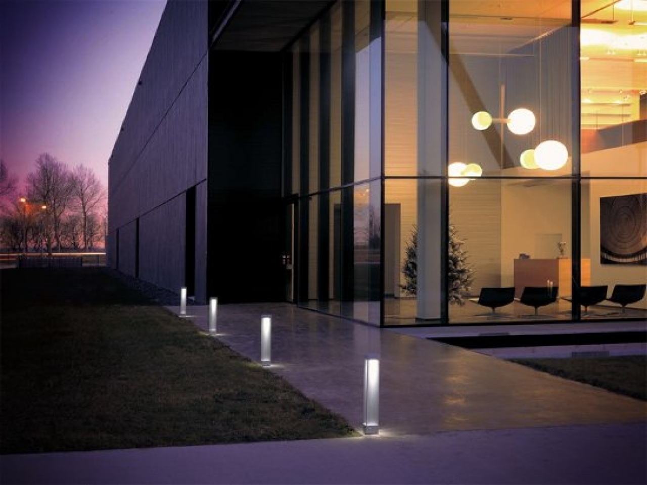 Outdoor Lighting: Trendy Outdoor Lighting 2018 Collection Solar Wall Throughout Most Popular Modern Garden Landscape Lighting (View 14 of 20)