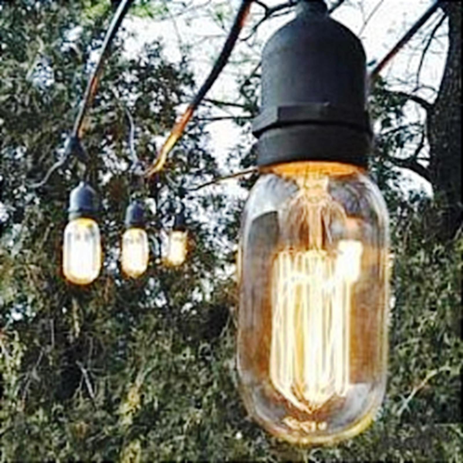 Outdoor : Modern Decorative Outdoor String Lights Perfect For Patios Pertaining To Fashionable Commercial Grade Outdoor Hanging Lights (View 6 of 20)