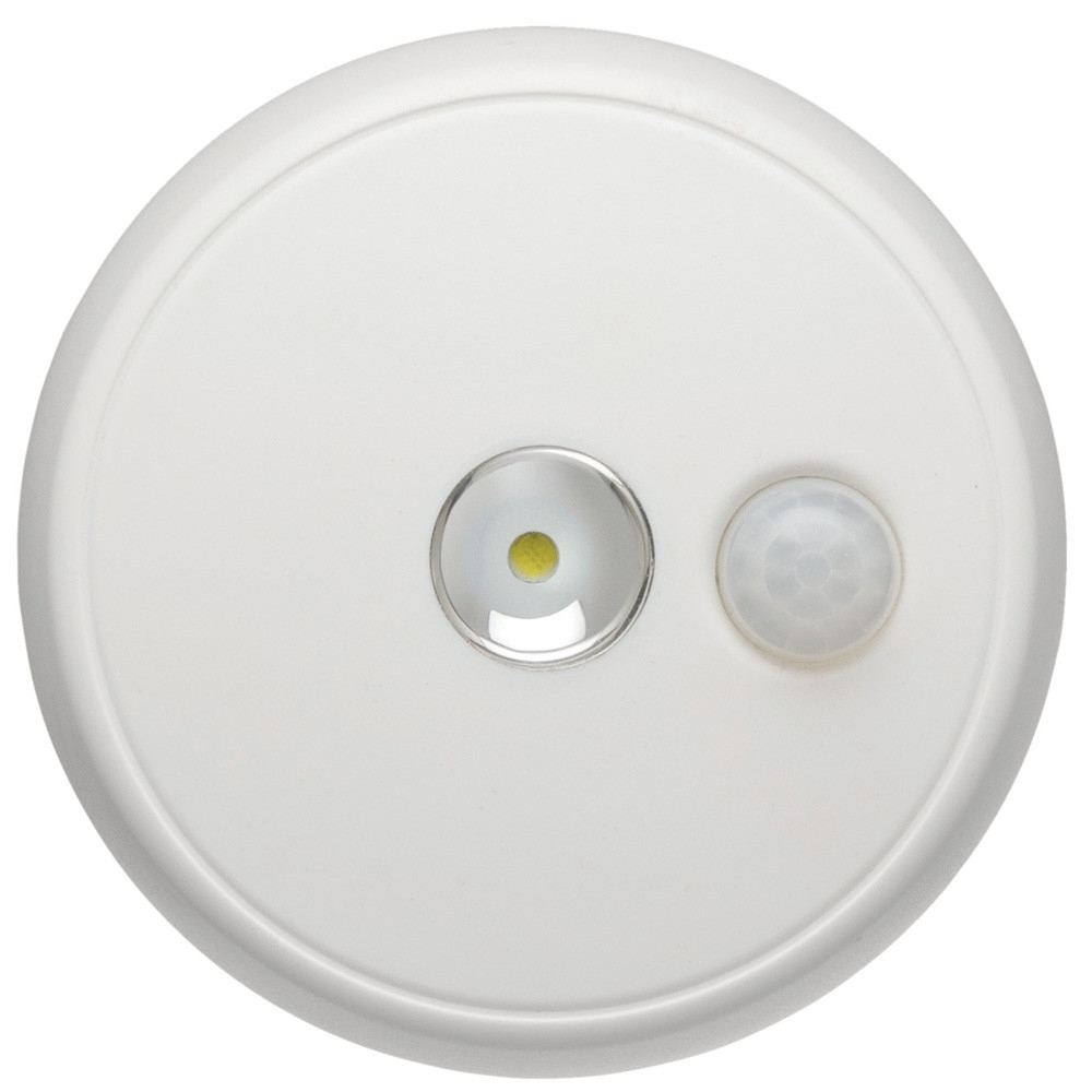 Outdoor Motion Detector Ceiling Lights Pertaining To Most Current Led Wireless Motion Sensor Ceiling Light – White – Mr (View 15 of 20)
