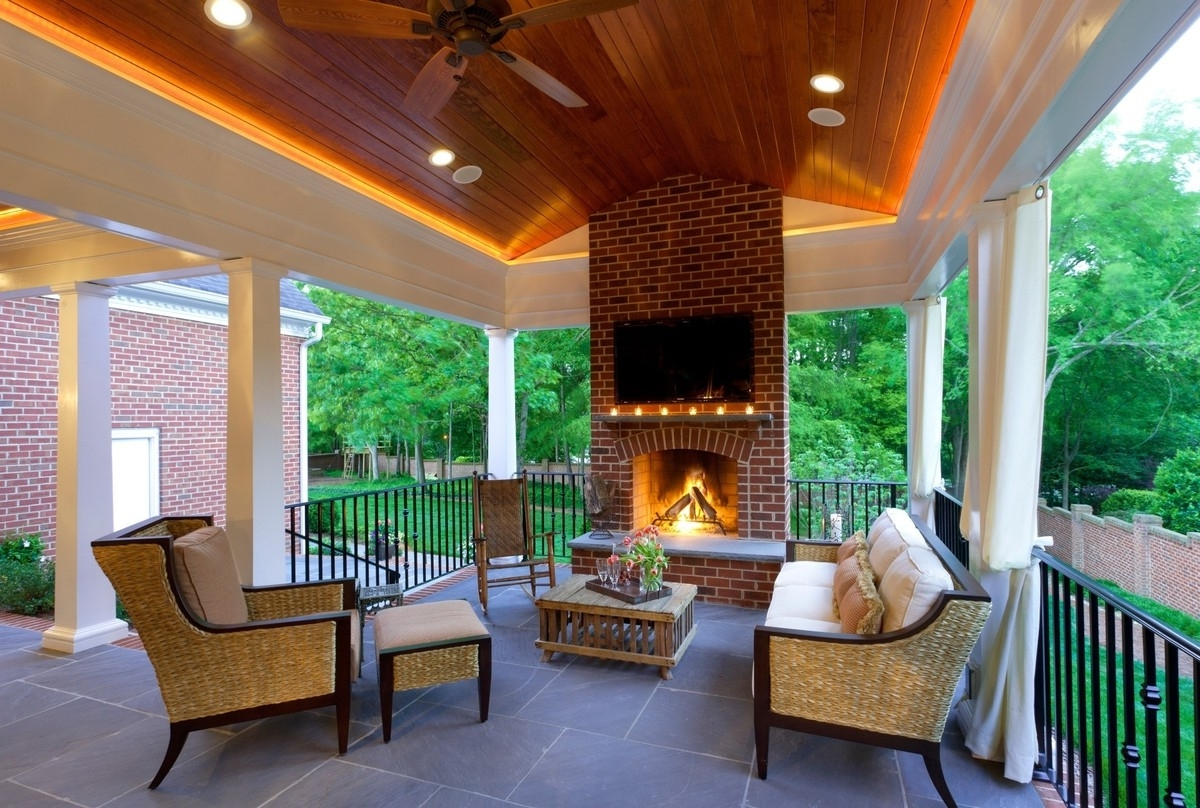 Outdoor Porch Ceiling Lights In Preferred Led Porch Ceiling Light Fixtures – Karenefoley Porch And Chimney (View 11 of 20)