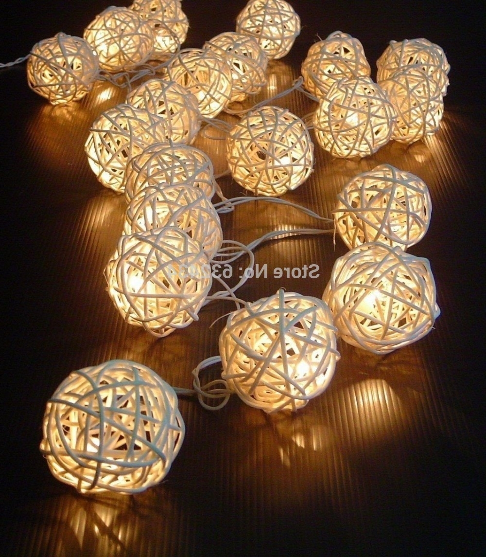 Outdoor Rattan Hanging Lights Throughout Popular Vintage Patio String Lights All About House Design : Special Patio (View 11 of 20)