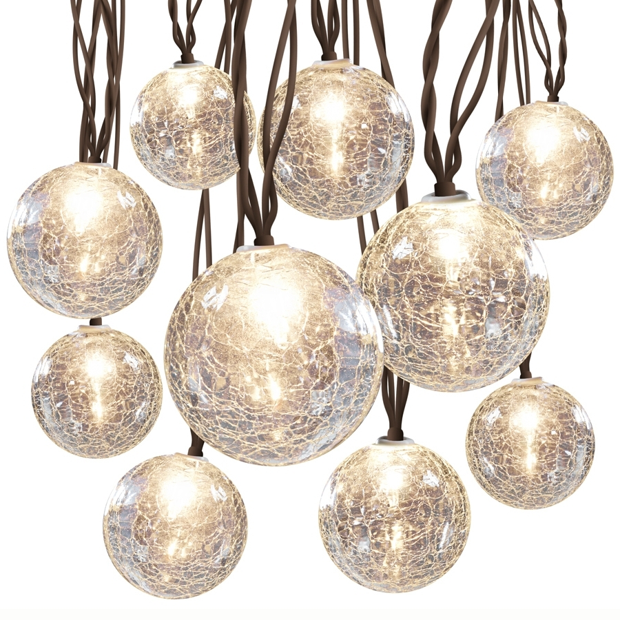 Outdoor Rattan Hanging Lights Within Most Recently Released Shop String Lights At Lowes (View 17 of 20)