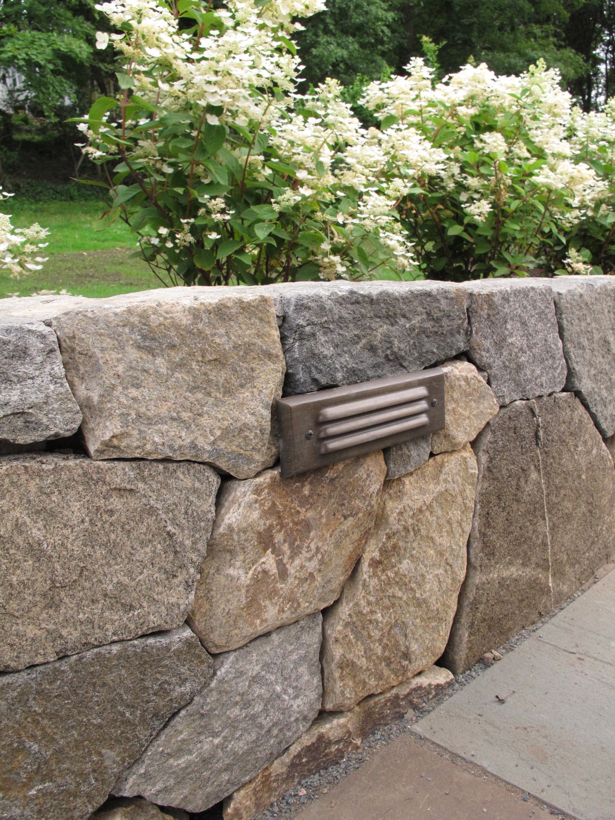 Outdoor Retaining Wall Lighting Throughout Famous Nilsen Landscape Design » Ideas For Lighting A Landscape Wall (View 20 of 20)
