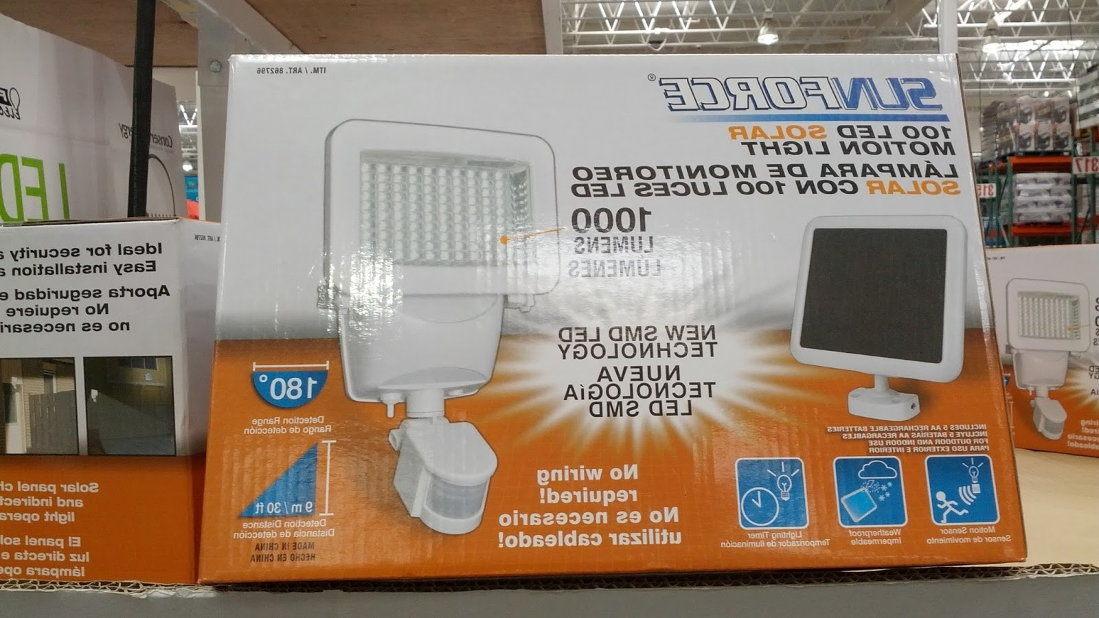 Outdoor Solar Lanterns Costco – Outdoor Designs Throughout Newest Outdoor Wall Lighting At Costco (View 10 of 20)
