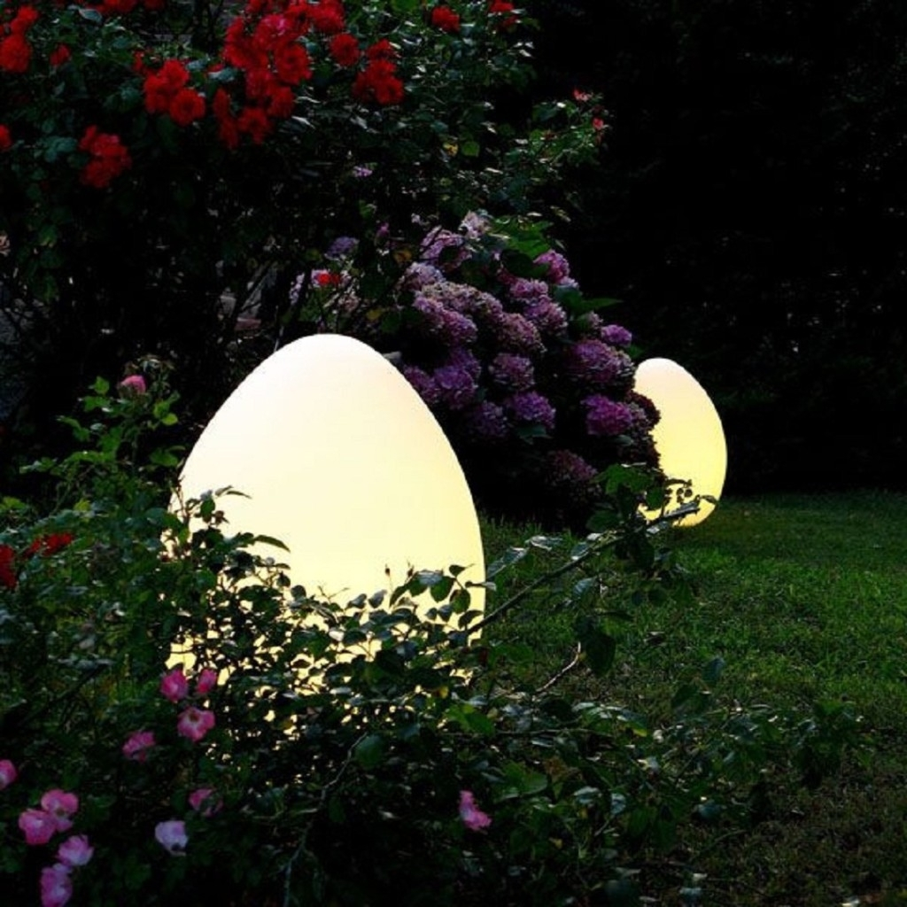 Outdoor Solar Lights Oval : All About Outdoor Solar Lights Intended For Well Liked Modern Led Solar Garden Lighting Fixture (View 17 of 20)