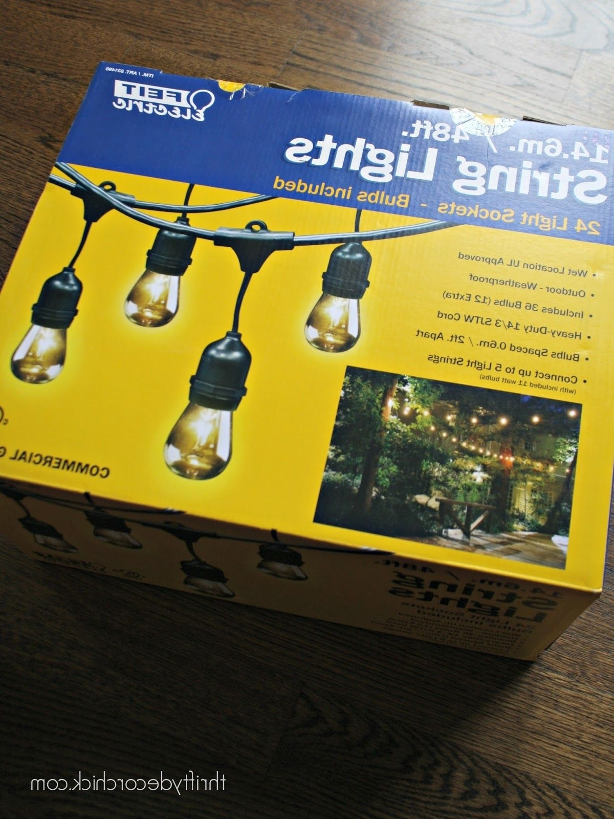 Outdoor String Lighting, Costco And Bulbs With Regard To Recent Outdoor Wall Lighting At Costco (View 12 of 20)