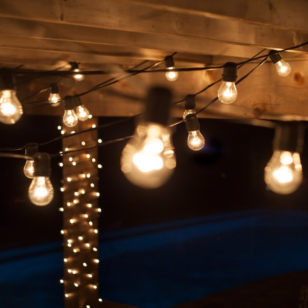 Outdoor String Lights At Home Depot With Most Recently Released Home Lighting (View 14 of 20)