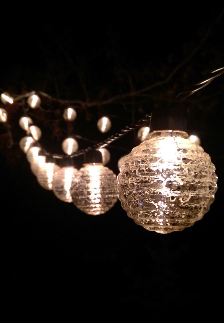 Outdoor String Lights Throughout Trendy Round Outdoor Hanging Lights (View 10 of 20)