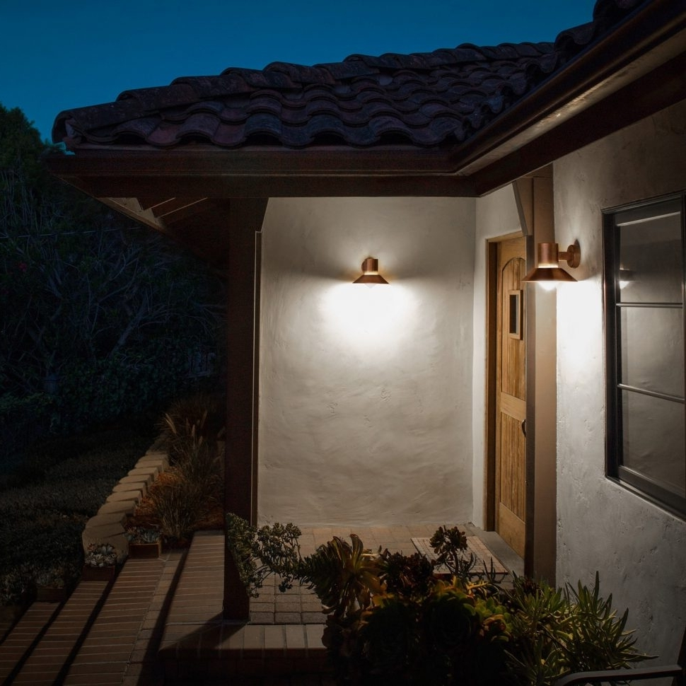 Outdoor Wall Accent Lighting With Well Liked Diy : Outdoor And Patio Wall Accent Lighting With Artsitic Lights (View 17 of 20)