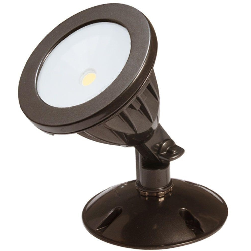 Outdoor Wall Flood Lights Throughout Favorite Irradiant Dark Bronze Led Outdoor Wall Mount Flood Light Alv2 1H Db (View 14 of 20)