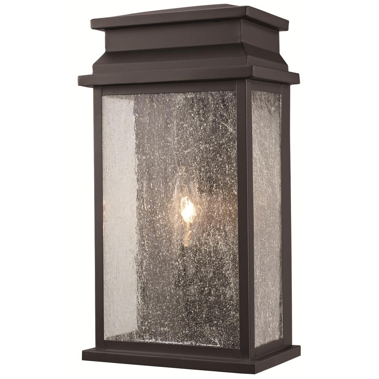 Outdoor Wall Lantern By Transglobe Lighting Within Preferred Trans Globe 40771 Bk Pocket 1 Light Wall Lantern In Black With (View 16 of 20)