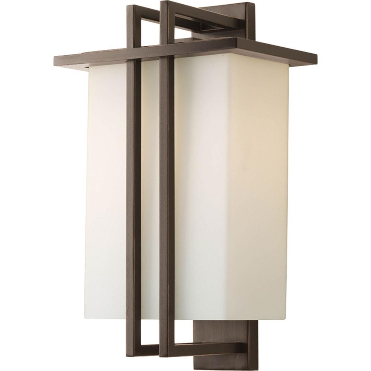 Outdoor Wall Lantern Lighting In 2019 One Lamp Outdoor Medium Wall Lantern Light Fixture – Progress (View 9 of 20)