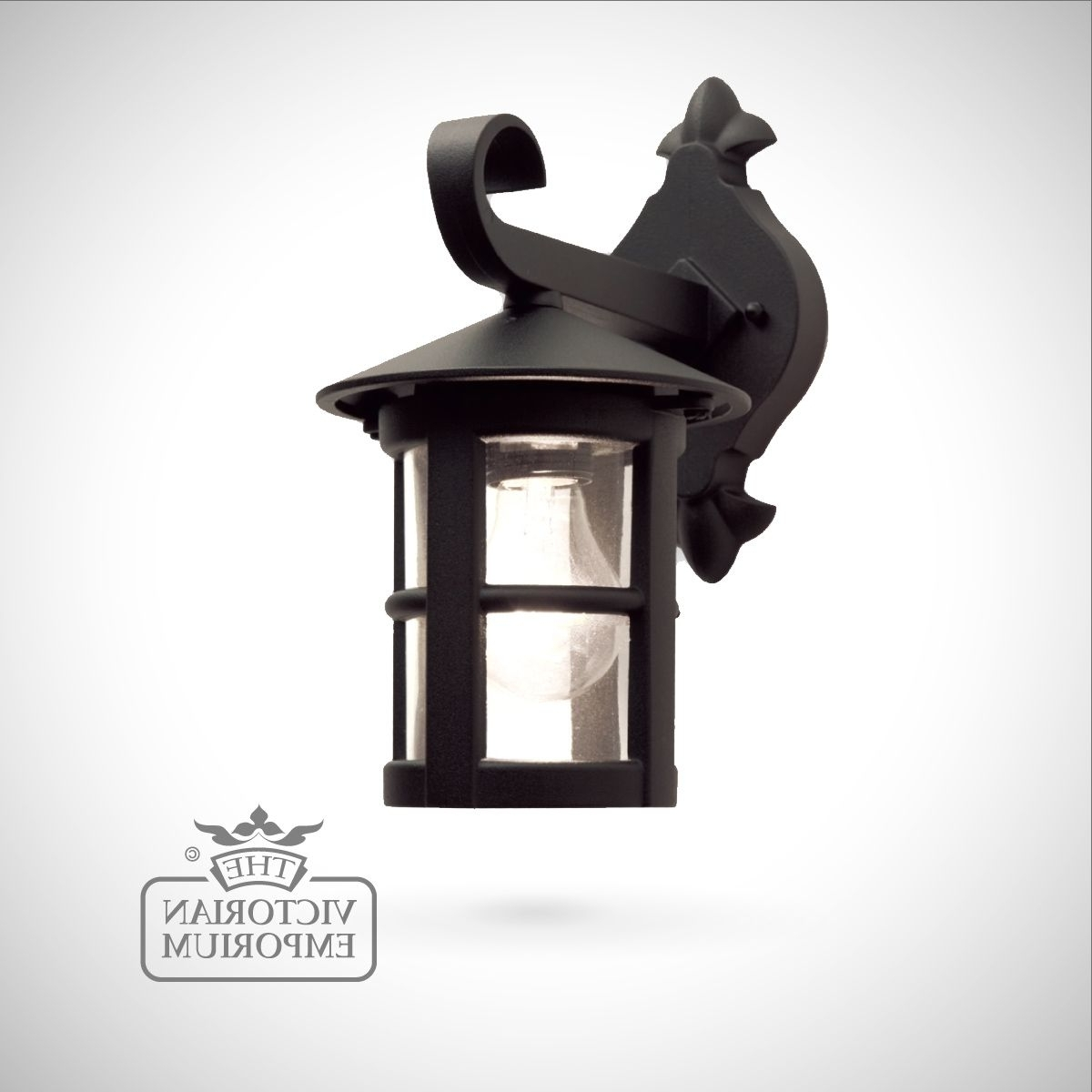 Outdoor Wall Lantern Lights Pertaining To Most Recently Released Hereford Plain Small Wall Lantern (View 12 of 20)
