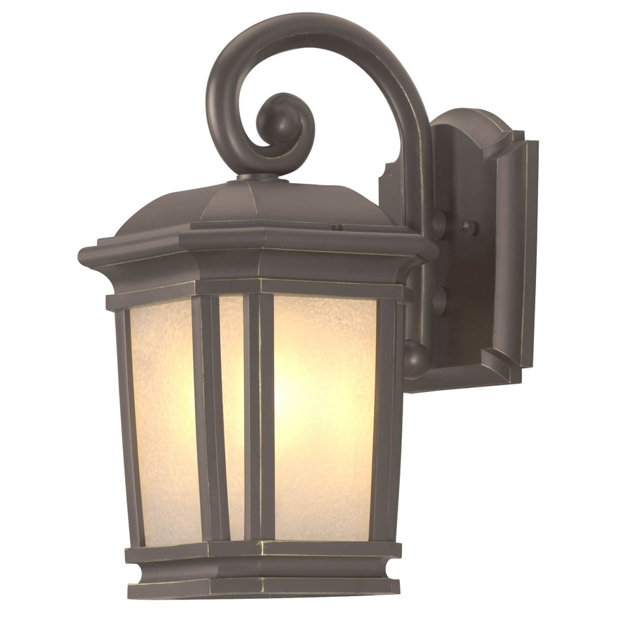 Outdoor Wall Light Fixtures At Lowes With Well Known Shop Portfolio Corrigan  (View 9 of 20)
