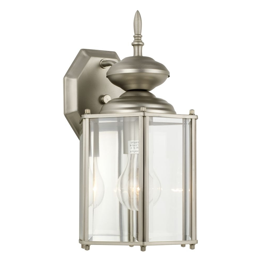 Outdoor Wall Lighting At Amazon Intended For Trendy Furniture : Lantern Style Outdoor Wall Light Destination Lighting (View 2 of 20)