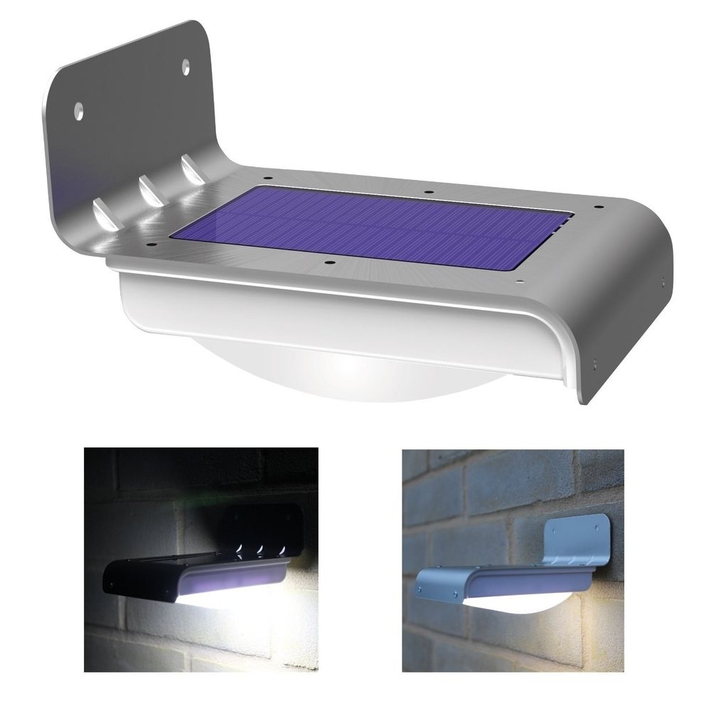 Outdoor Wall Lighting At Ebay In Best And Newest 16 Led Solar Power Motion Sensor Garden Security Lamp Outdoor (View 11 of 20)