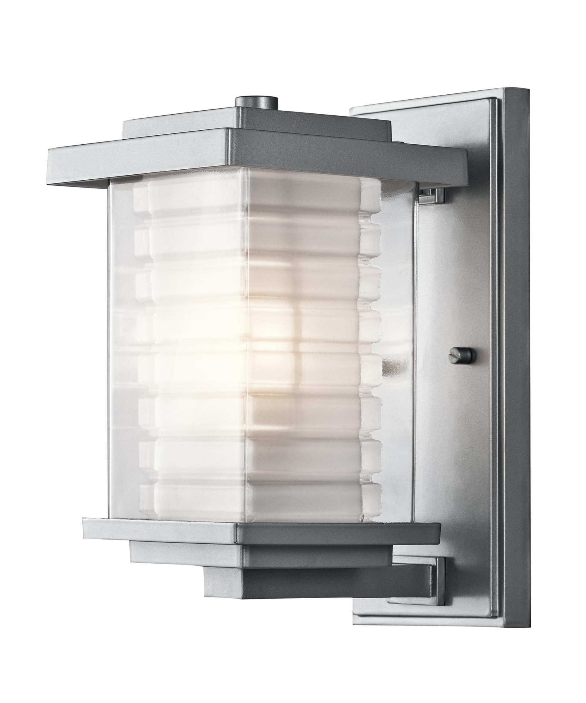 Outdoor Wall Lighting At Kichler With Regard To Most Recently Released Kichler 49364 Ascari 6 Inch Wide 1 Light Outdoor Wall Light (View 13 of 20)