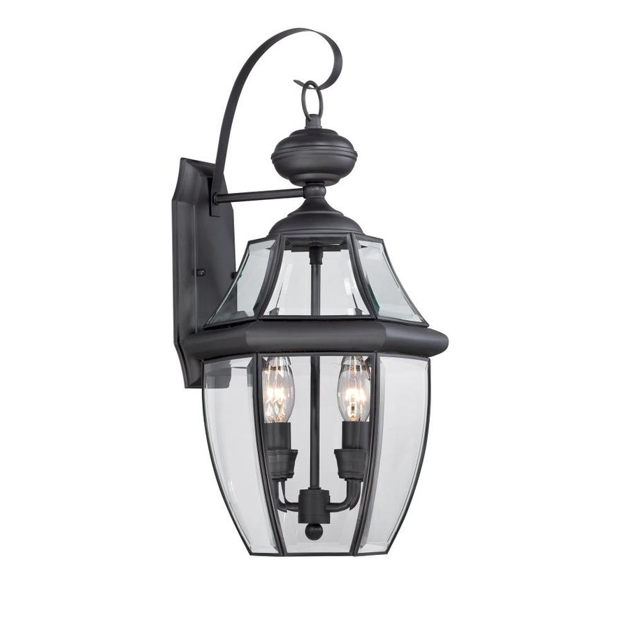 Outdoor Wall Lighting At Lowes In Most Up To Date Shop Outdoor Wall Lighting At Lowes (View 5 of 20)
