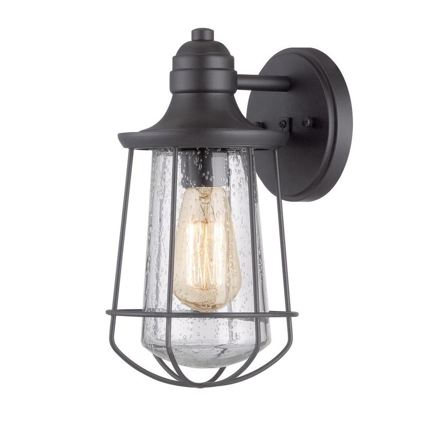Outdoor Wall Lighting At Lowes With Regard To Widely Used Shop Portfolio Valdara (View 16 of 20)