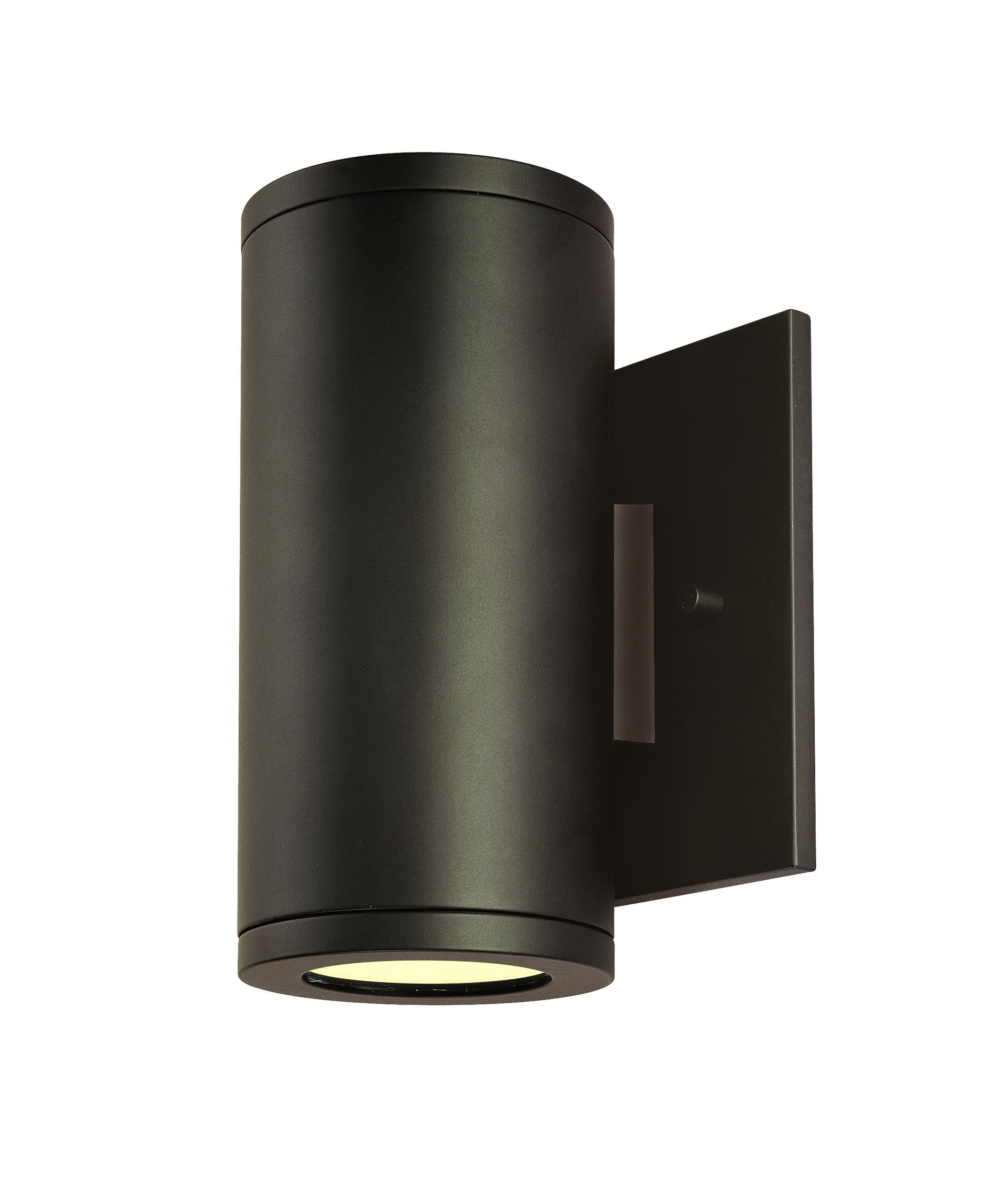 Outdoor Wall Lighting Fixtures At Amazon With Regard To Best And Newest Csl Lighting Ss1020a Silo Outdoor Wall Light (View 6 of 20)
