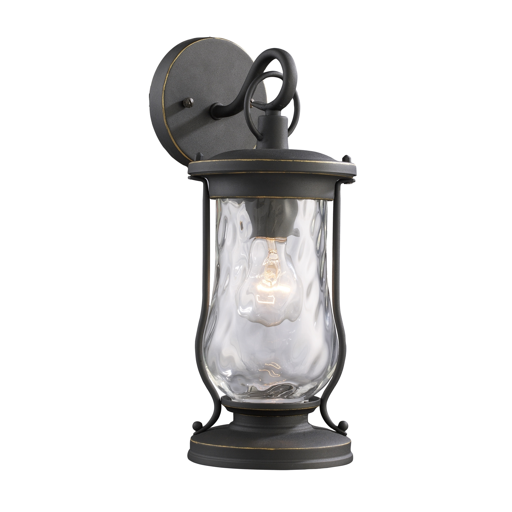 Outdoor Wall Lighting Wayfair Farmstead 1 Light Sconce ~ Loversiq Inside Preferred Garden Porch Light Fixtures At Wayfair (View 20 of 20)