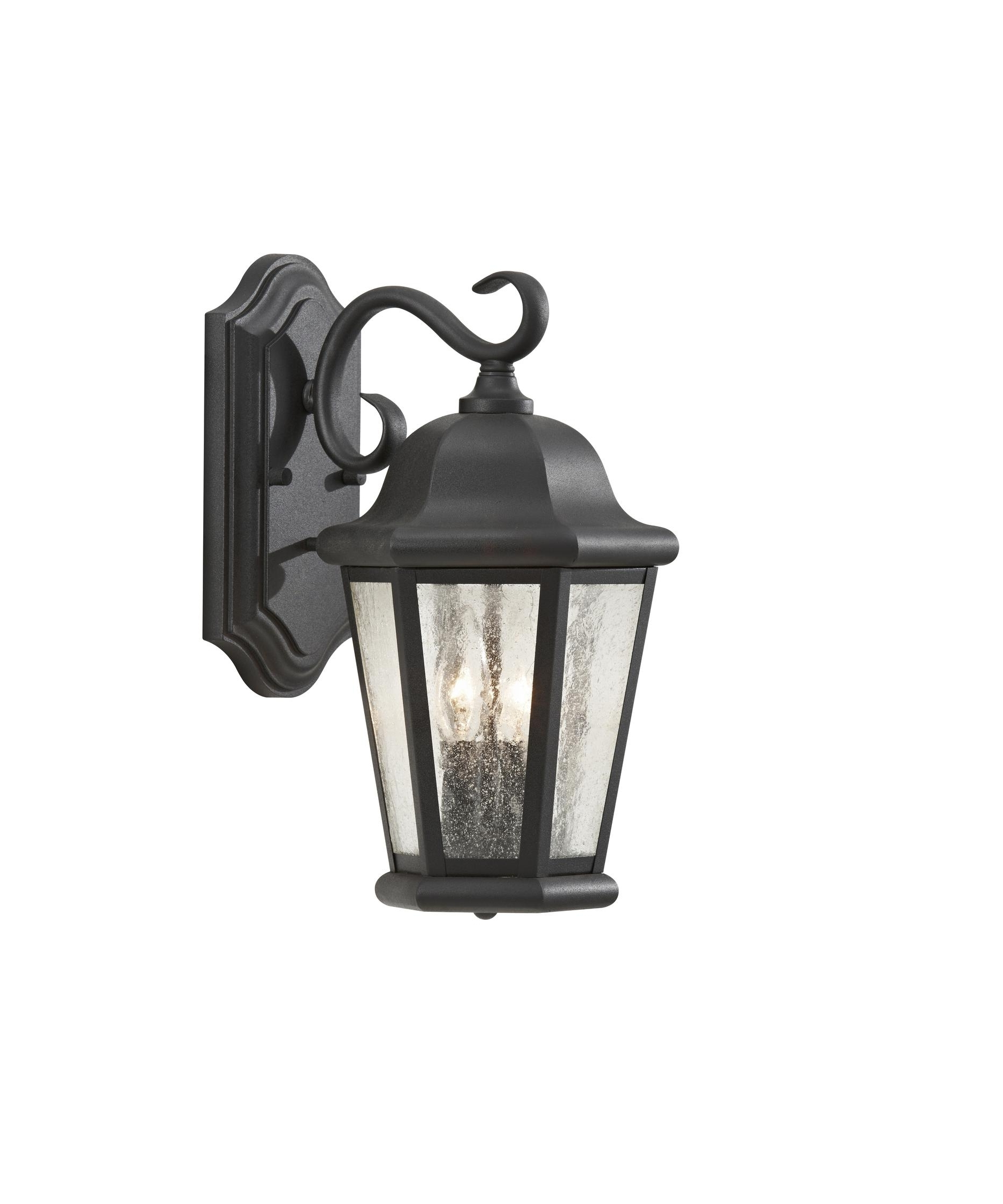 Outdoor Wall Lighting With Seeded Glass For Most Popular Murray Feiss Ol5901 Martinsville 15 Inch Wide 2 Light Outdoor Wall (View 11 of 20)