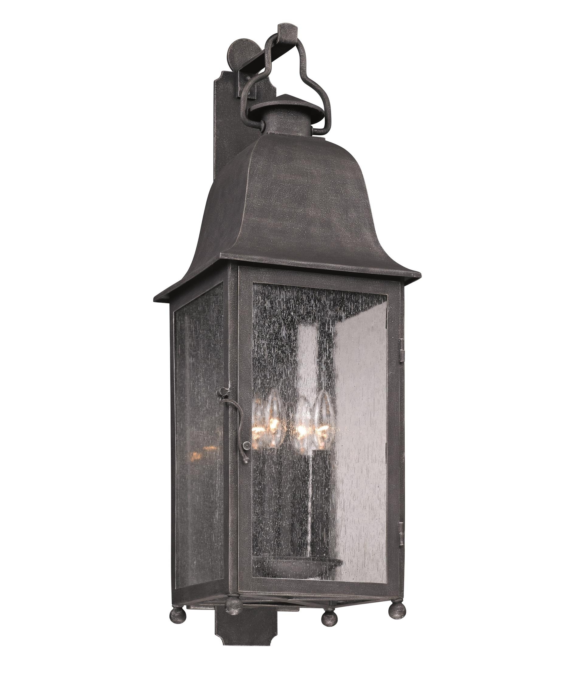 Outdoor Wall Lighting With Seeded Glass With Well Known Troy Lighting B3213 Larchmont 10 Inch Wide 4 Light Outdoor Wall (View 14 of 20)
