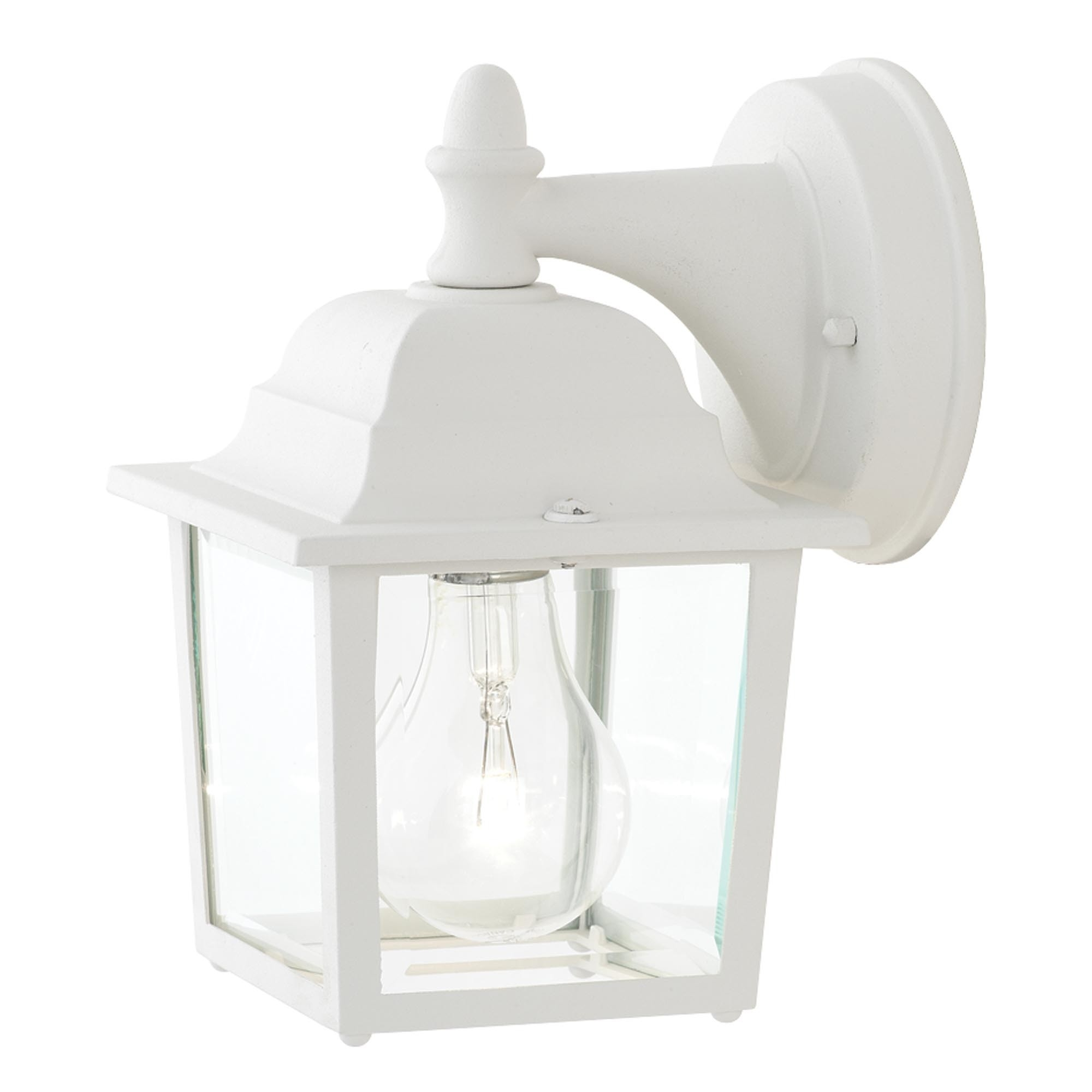 Outdoor Wall Lights In White Intended For Widely Used Light : New White Outside Wall Lights For Gas With Mount Led Light (View 15 of 20)