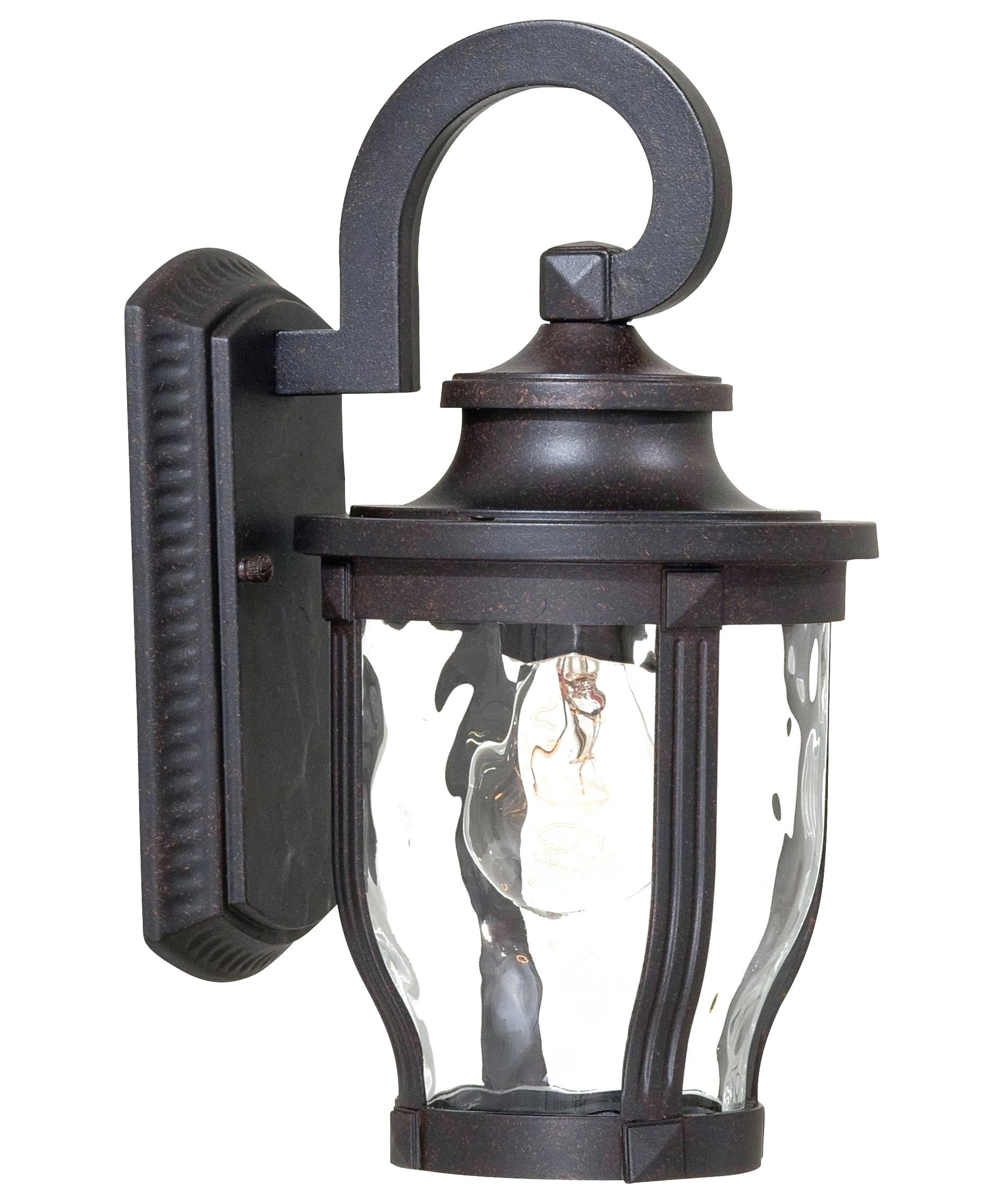 Outdoor Wall Lights With Gfci Outlet Regarding Well Known Interior (View 12 of 20)