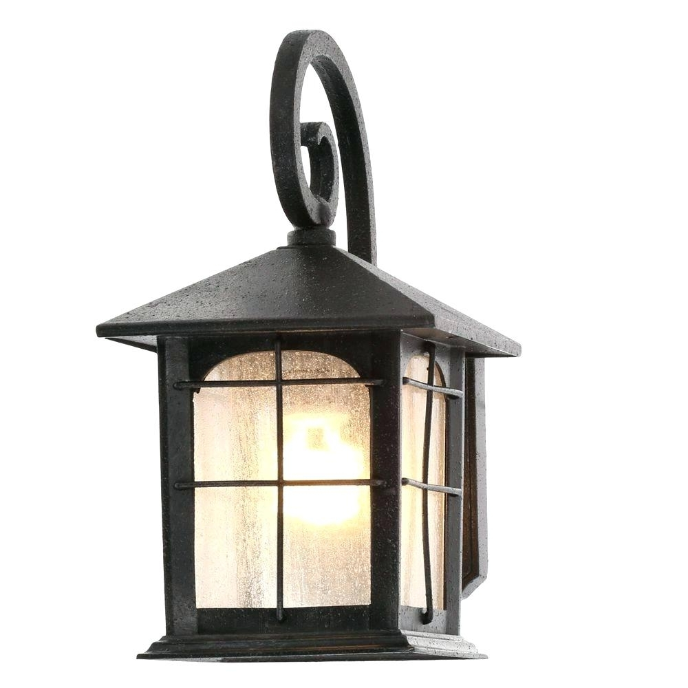 Outdoor Wall Lights With Gfci Outlet With Regard To Latest Outdoor Wall Lamp Exterior Design Lantern With Gfci Outlet Sconces (View 14 of 20)
