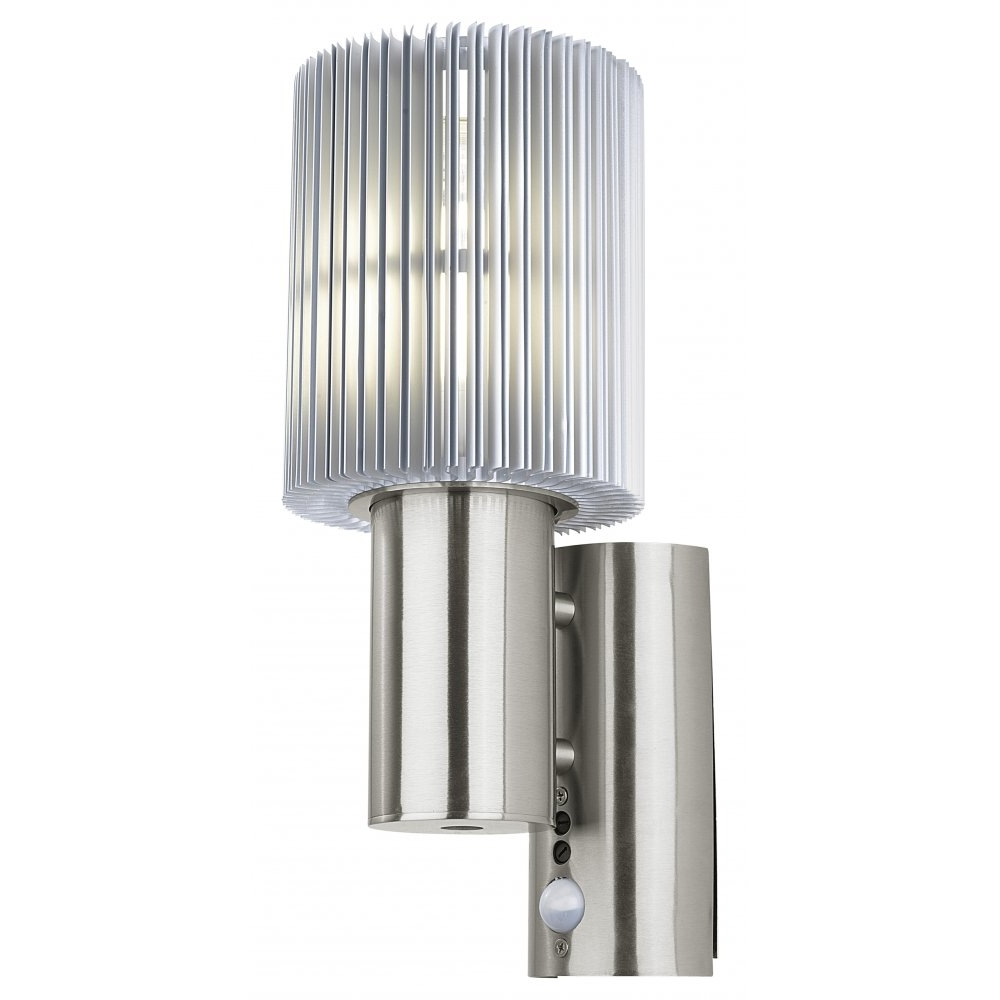 Outdoor Wall Lights With Pir Intended For Fashionable Installing Modern Outdoor Wall Lights (View 17 of 20)