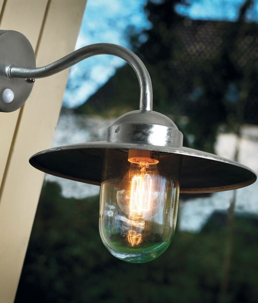 Outdoor Wall Lights With Pir Sensor (View 14 of 20)