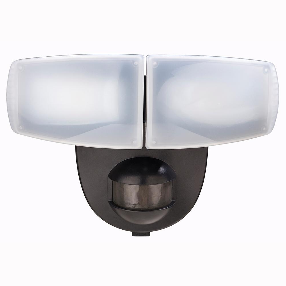 Outdoor Wall Lights With Security Camera For Most Recently Released Battery – Outdoor Security Lighting – Outdoor Lighting – The Home Depot (View 20 of 20)
