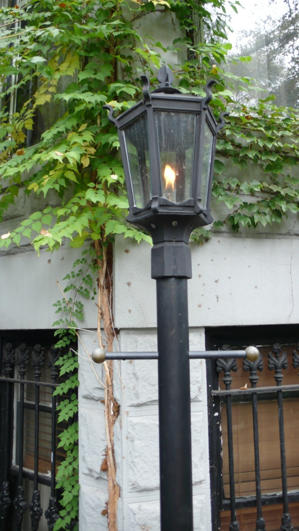 Outdoor Wall Mount Gas Lights Within Famous Accessories: Contemporary Wall Mounted Copper Frame Gas Torch (View 14 of 20)