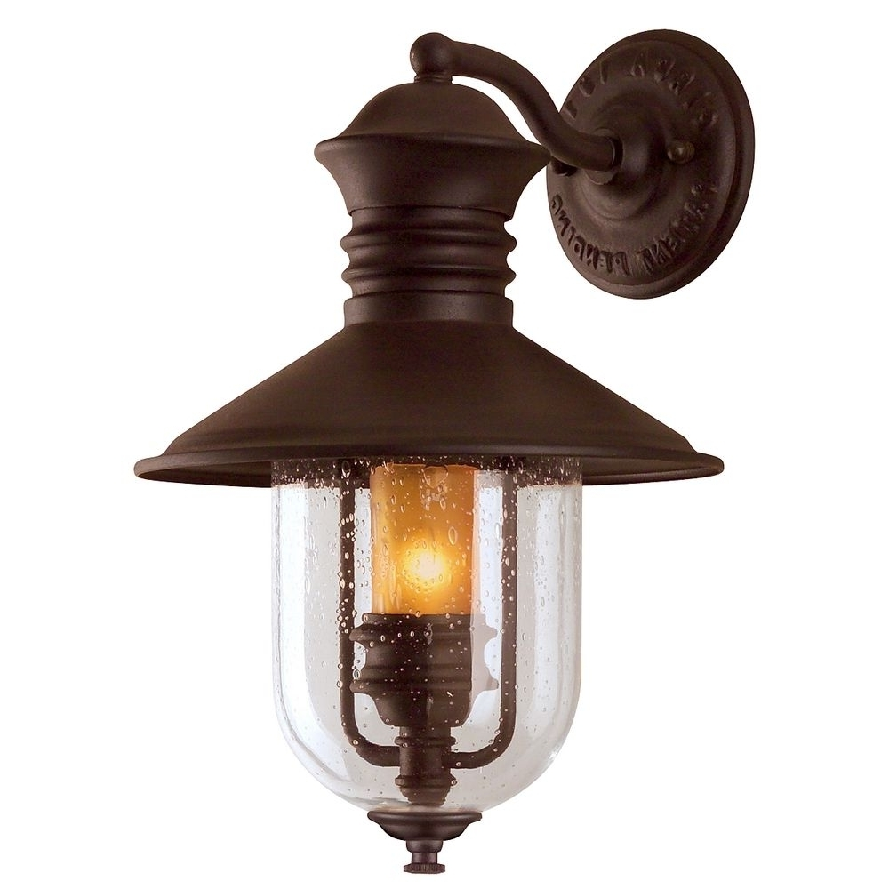 Outdoor Wall Porch Lights In Popular Outdoor Wall Mounted Fisherman Garden & Porch Light • Outdoor Lighting (View 8 of 20)