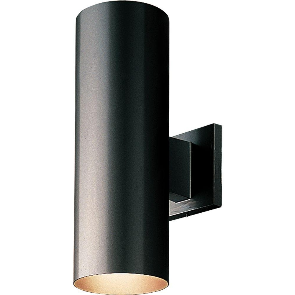 Outdoor Wall Sconce Up Down Lighting Throughout 2018 Cylinder Lights – Outdoor Wall Mounted Lighting – Outdoor Lighting (View 4 of 20)