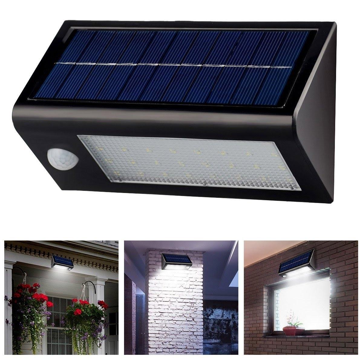 Outdoor Wall Solar Lighting For 2019 Innogear® Solar Powered Outdoor Motion Sensor Light – Youtube (View 7 of 20)