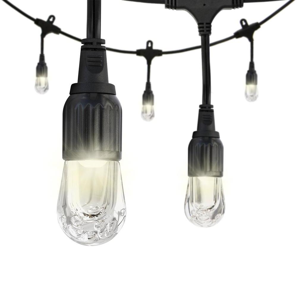 Outdoor Waterproof Hanging Lights In Most Current Enbrighten Cafe 48 Ft (View 12 of 20)