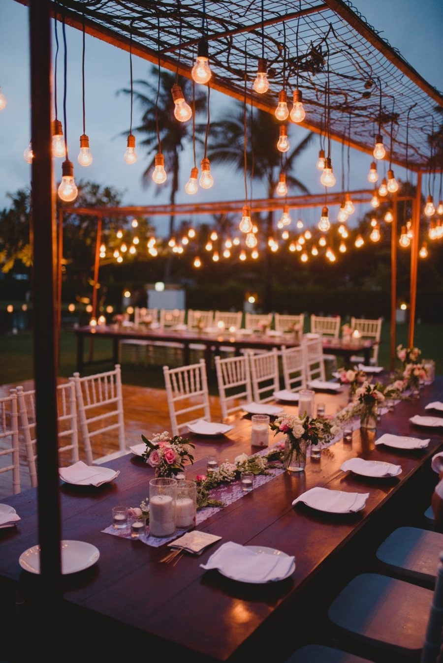 Outdoor Wedding Tables (View 8 of 20)