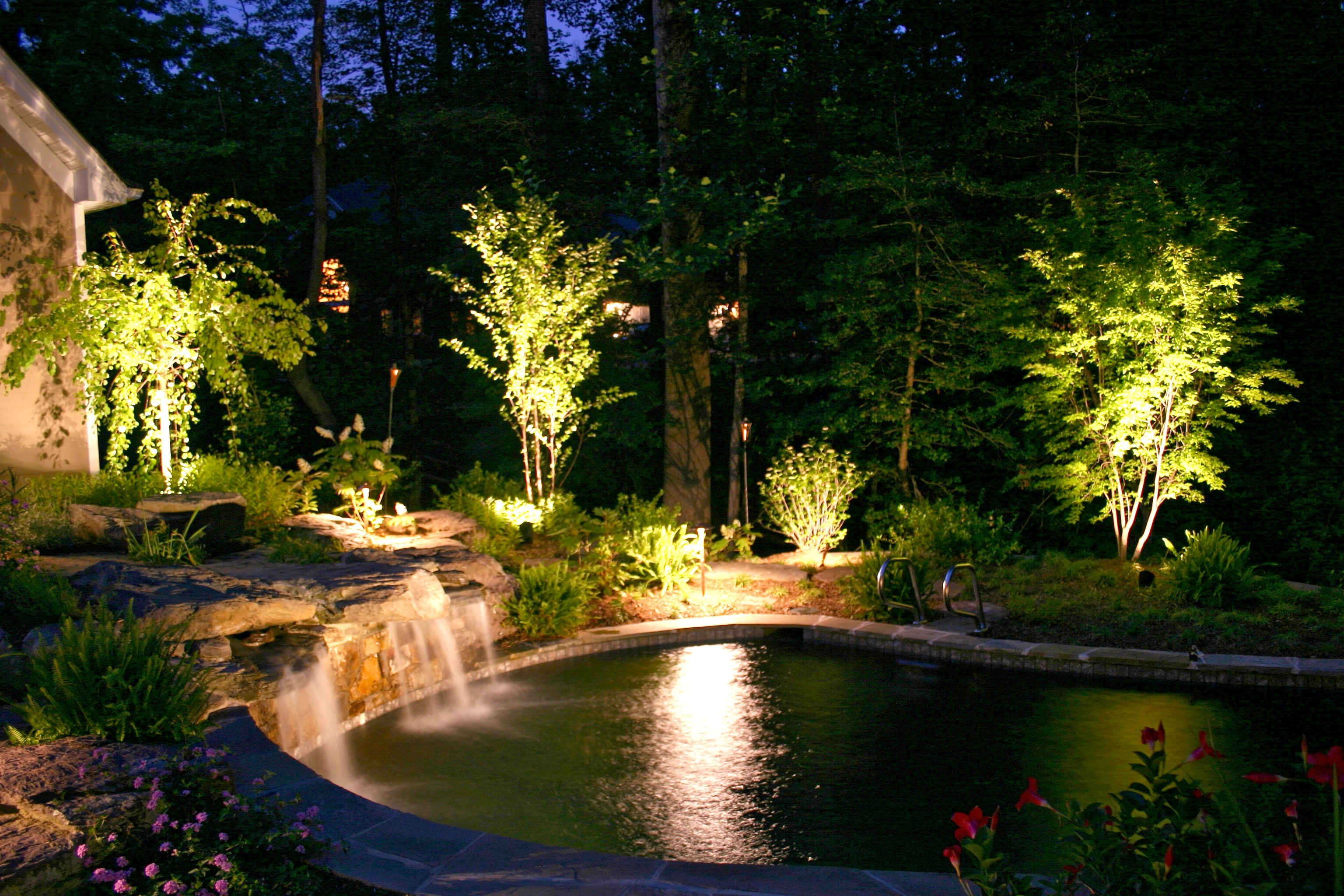 Featured Photo of Electric Outdoor Lighting Garden