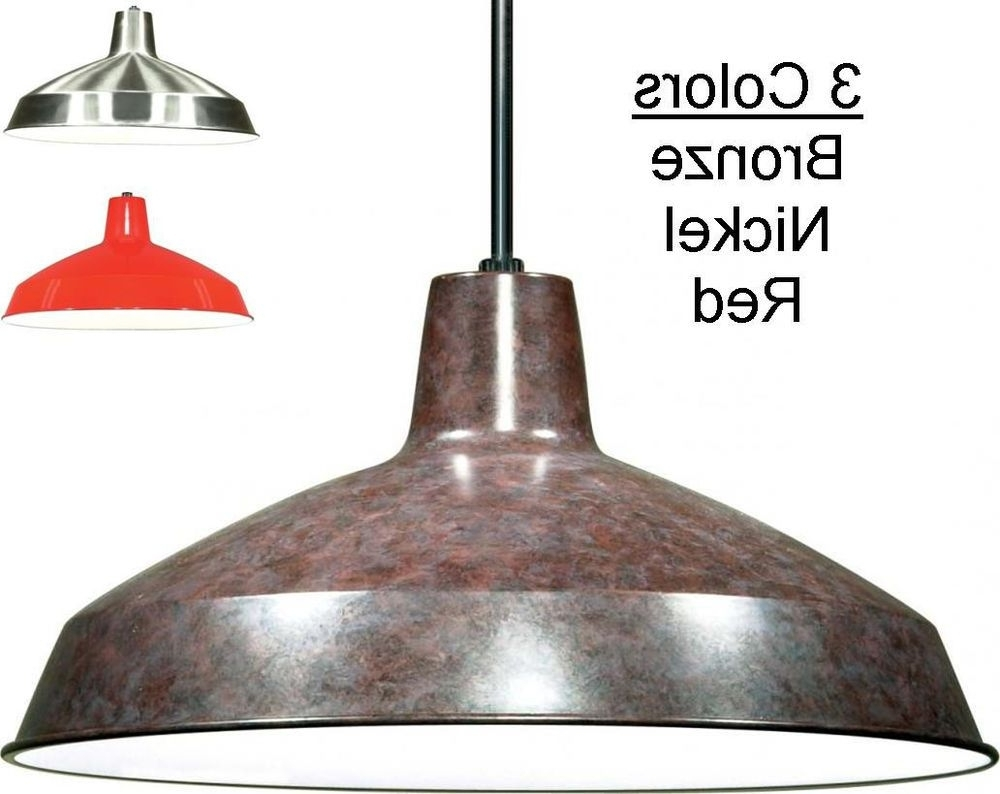 Pendant Lighting, Warehouse And (View 9 of 20)