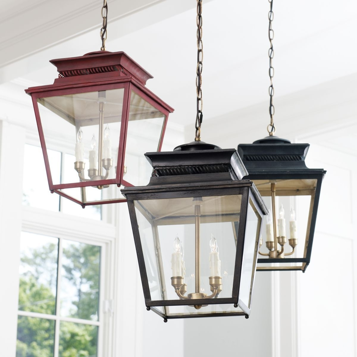 Piedmont 4 Light Lantern (View 15 of 20)